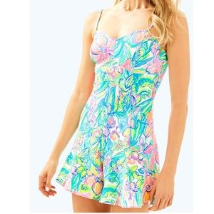 Lilly Pulitzer Floral Coralie Romper